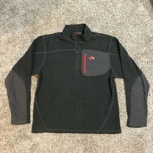 Men's North Face 1/4 Zip Pullover Jacket Medium
